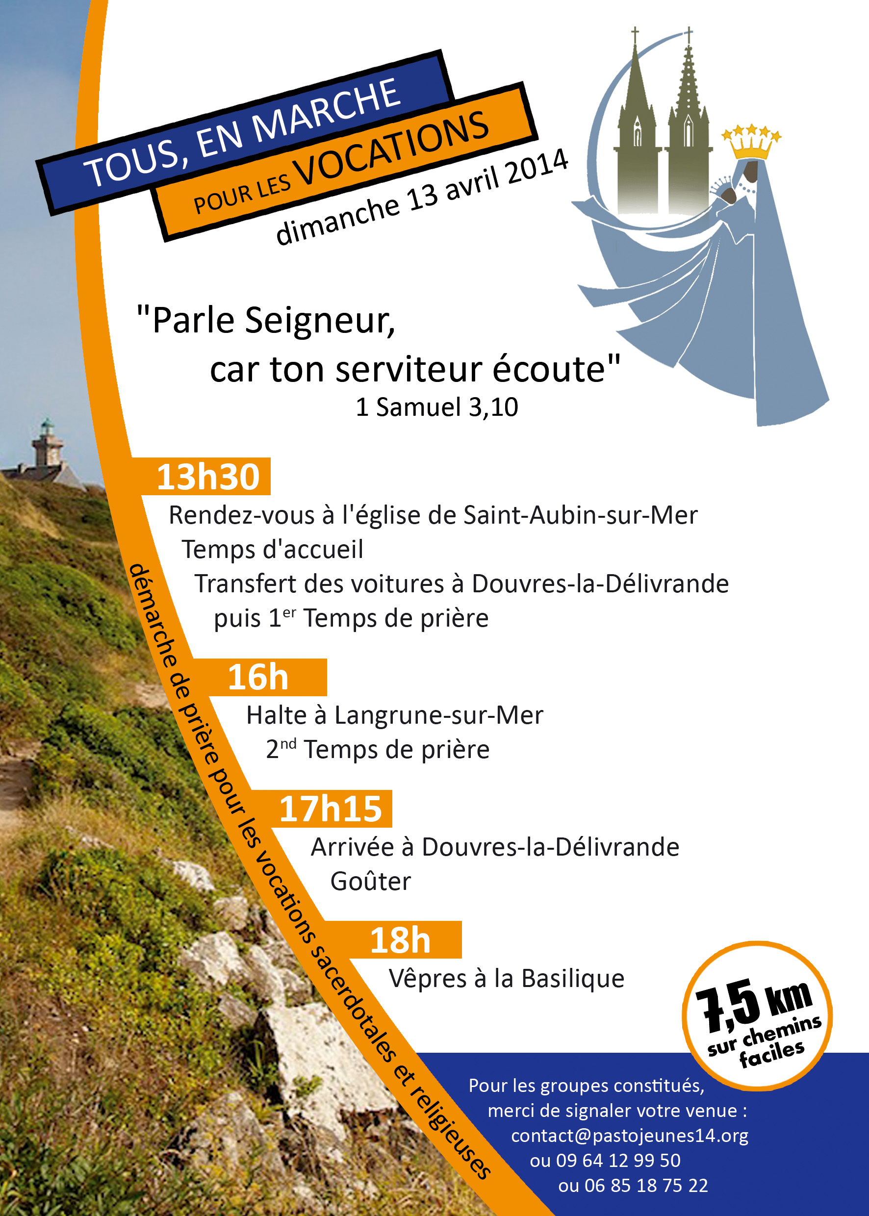Tract marche vocation 2014V